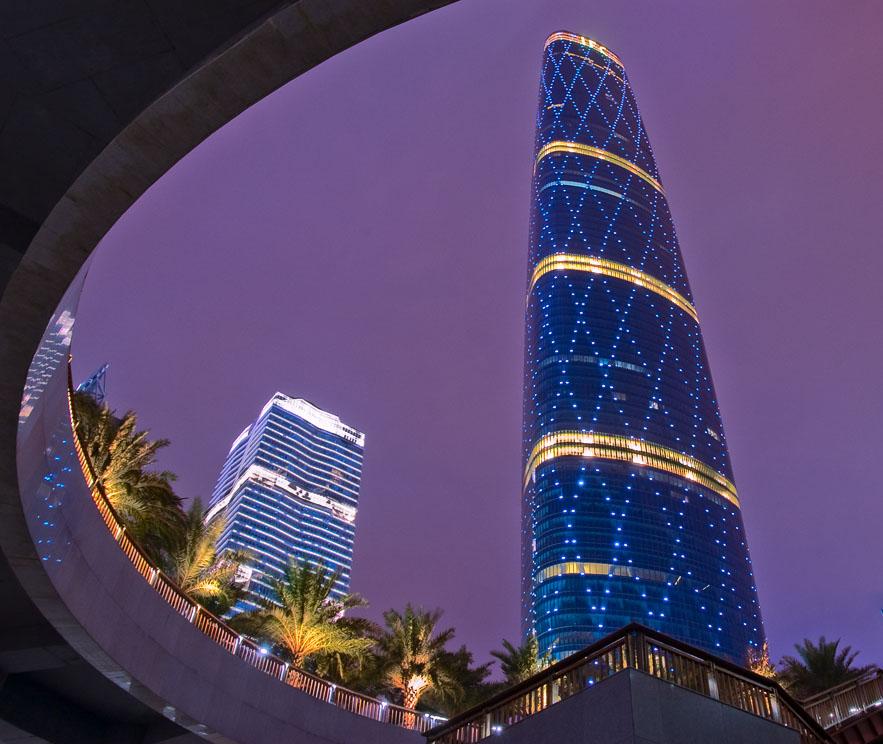 项目名称:广州西塔 项目地址:广州市珠江新城华夏路 产品应用:圣安娜
