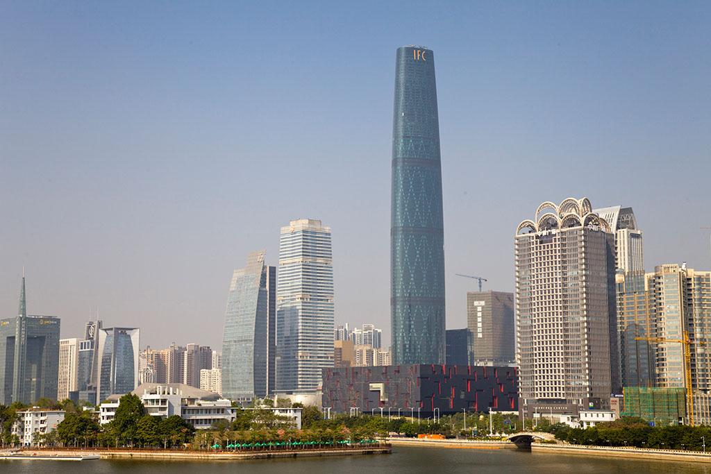 项目名称:广州西塔 项目地址:广州市珠江新城华夏路